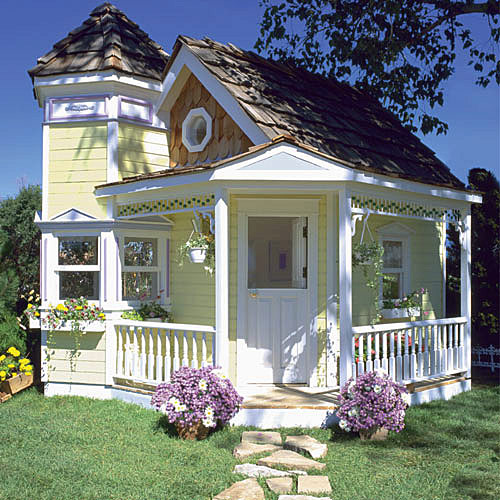 Outdoor Playhouse Sitebabyboxcom Blog